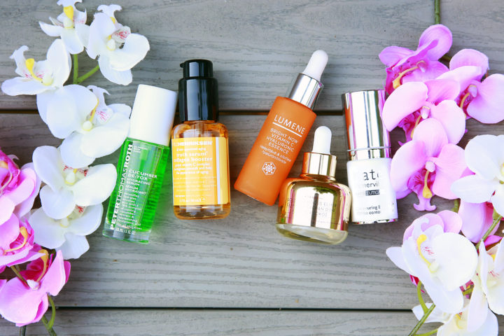 top 5 serums hydrating dehydrated skin