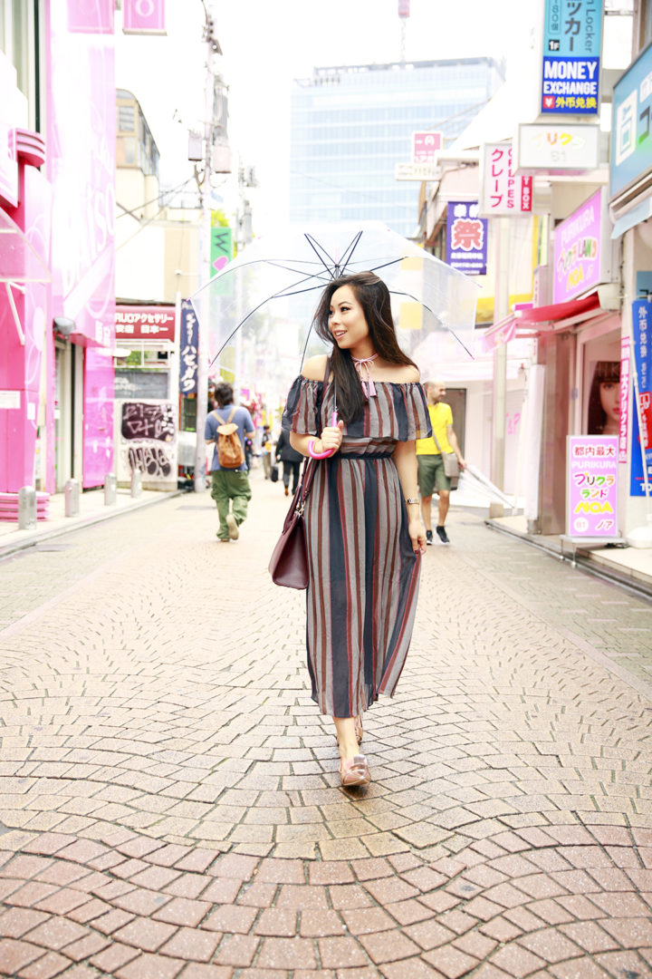 harajuku-striped-maxi-off-shoulder-dress