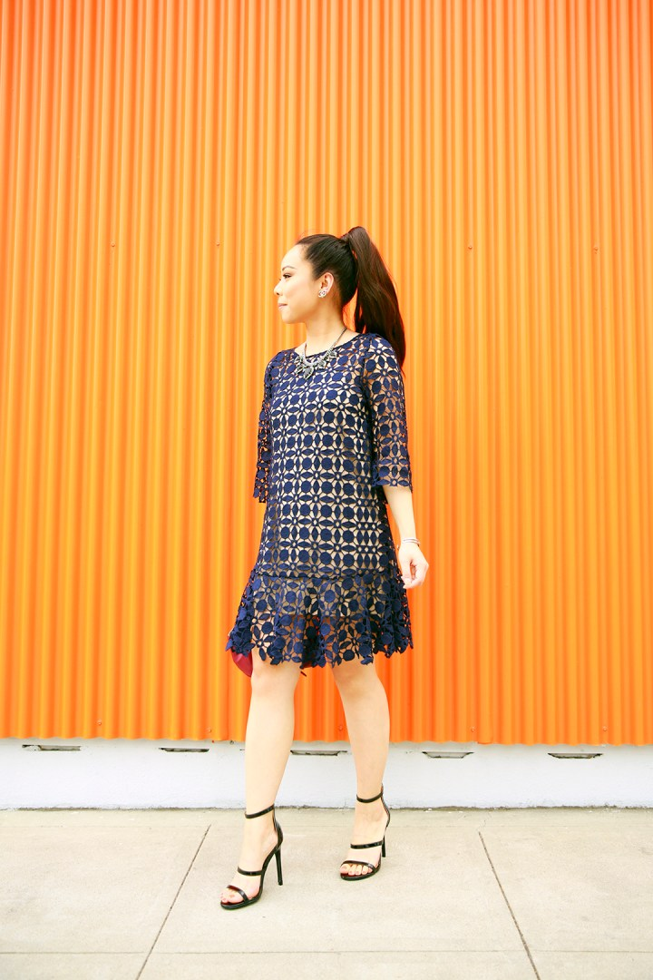 an-dyer-wearing-chicwish-navy-crochet-dress-with-guilty-soles-black-strappy-sandals
