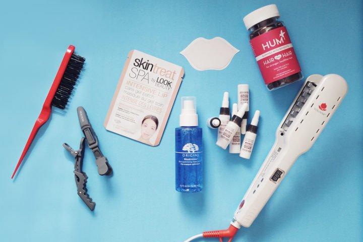 What's new in beauty technology blogger Skintreat, Origins Maskimizer, Alterna Hair Caviar, HUM Nutrition Gummies, Voloom