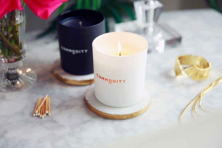 Commodity Goods Oolong Book Candles
