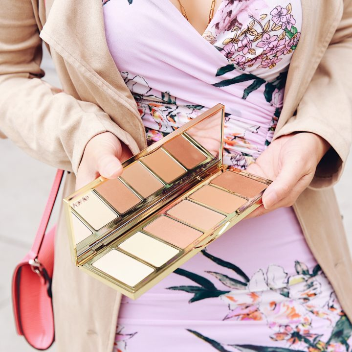 Beauty Blogger Tarte Cosmetics Park Ave Princess Chisel Highlight Contour Palette