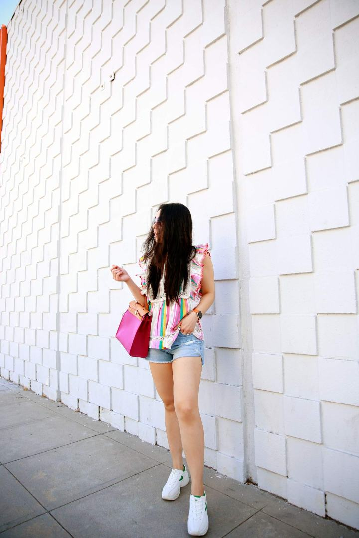 Burbank Fashion Blogger Casual Summer OOTD Street Style