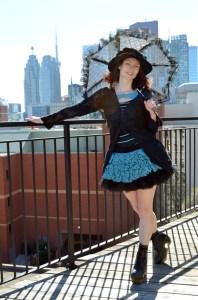 Haute Revel Ruffle Skirt Patter by Haute Revel