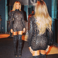 In see through dress amp thigh high boots for album party 171 hautespott