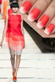 fashion-inspired nail design