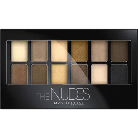 eye shadow maybelline the nudes