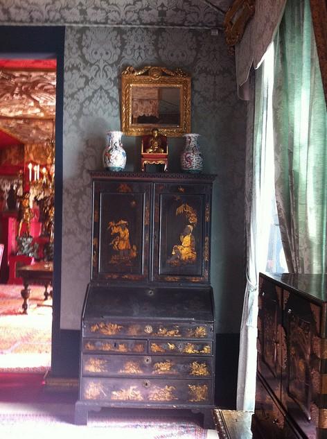 meuble salon bleu