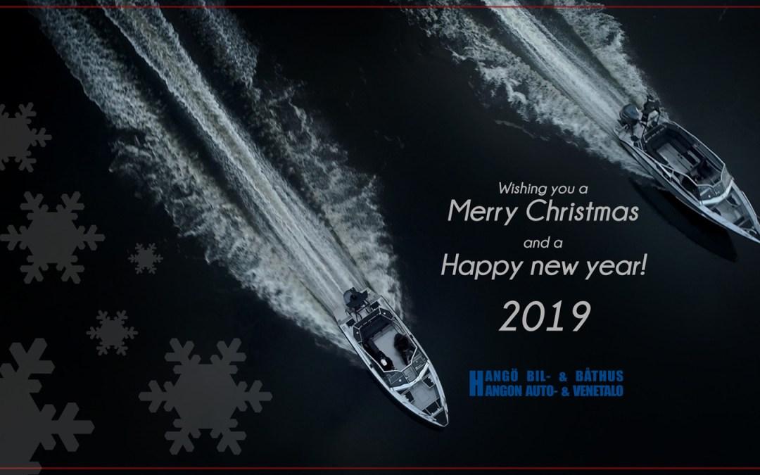 Vi önskar alla en Fridfull Jul och ett Gott Nytt År 2019