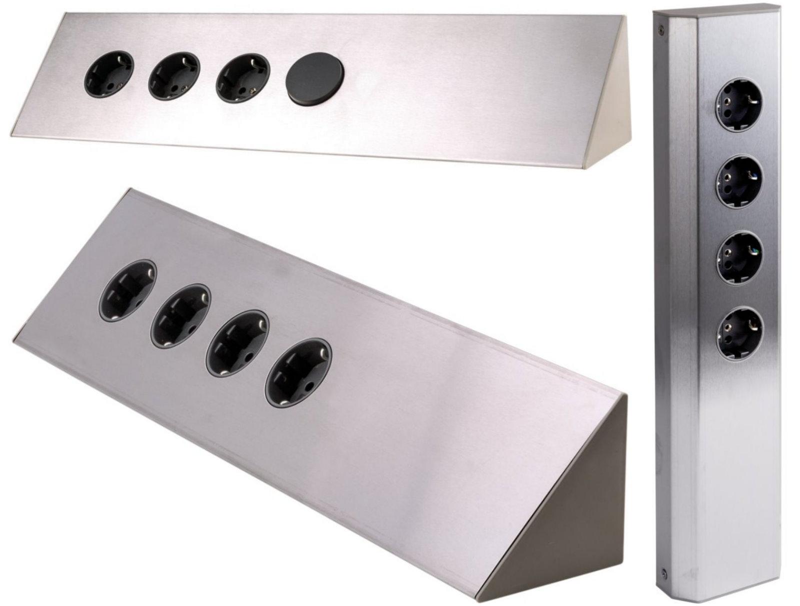 Steckdosenleiste Küche Ecke  Design