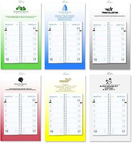 Week kalender met logo Havaga gifts & goodies - Originele Kado & Relatiegeschenken