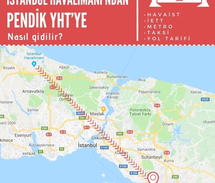 Yeni İstanbul Havalimanı'ndan (YHT) Hızlı Tren Garı'na Ulaşım Bilgileri