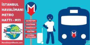 m11 gayrettepe istanbul havalimanı metro hattı