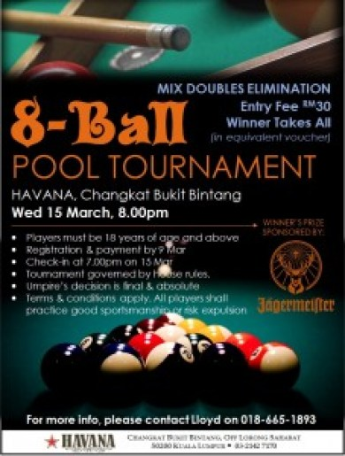Pool Tournament Poster Doubles With Jaeger 20Feb17