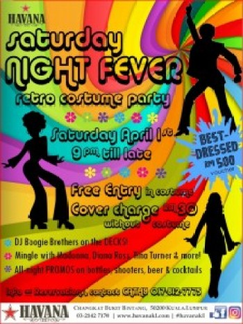 Saturday Night Fever Poster A3 Size JPG Format 11Mar17
