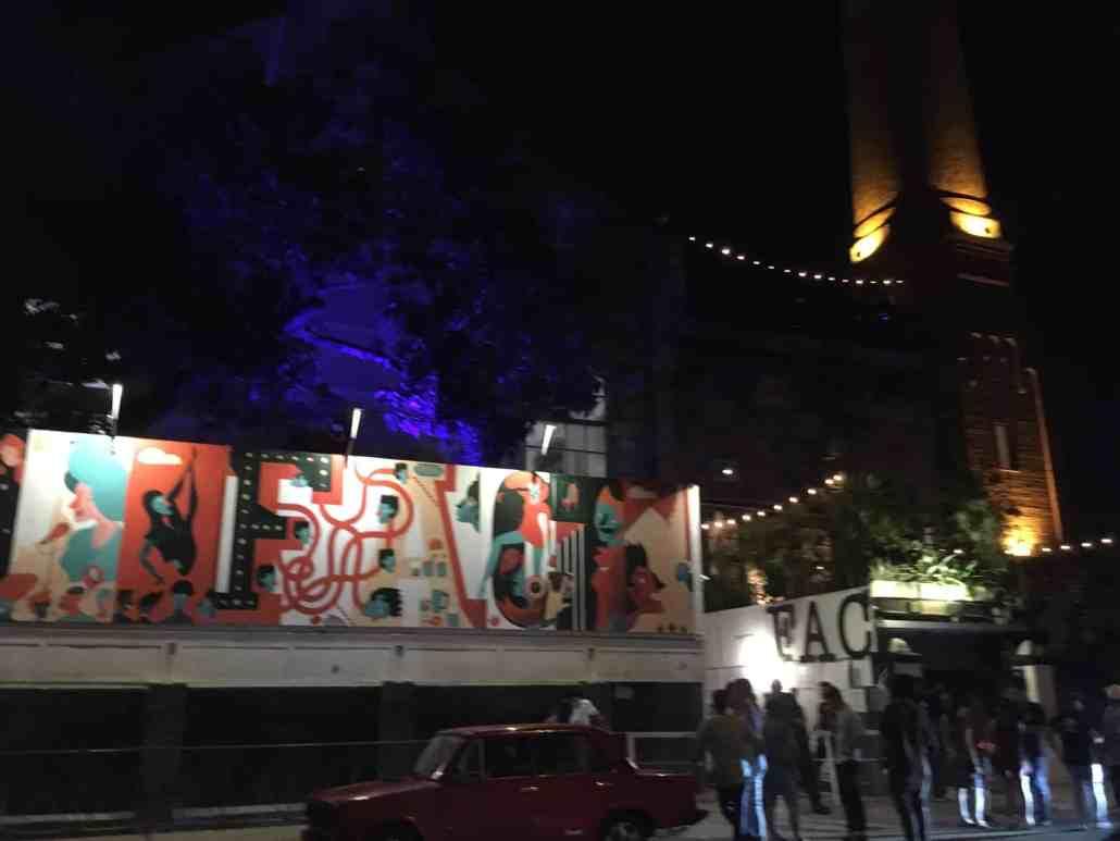 a photo of the famous fabrica de arte cubano in havana