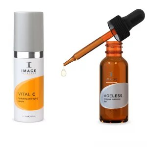 Vital C Hydrating Anti Ageing Serum & The Total Pure Hyaluronic Serum
