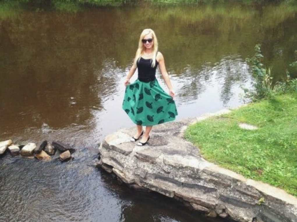 A good twirling skirt from ModCloth