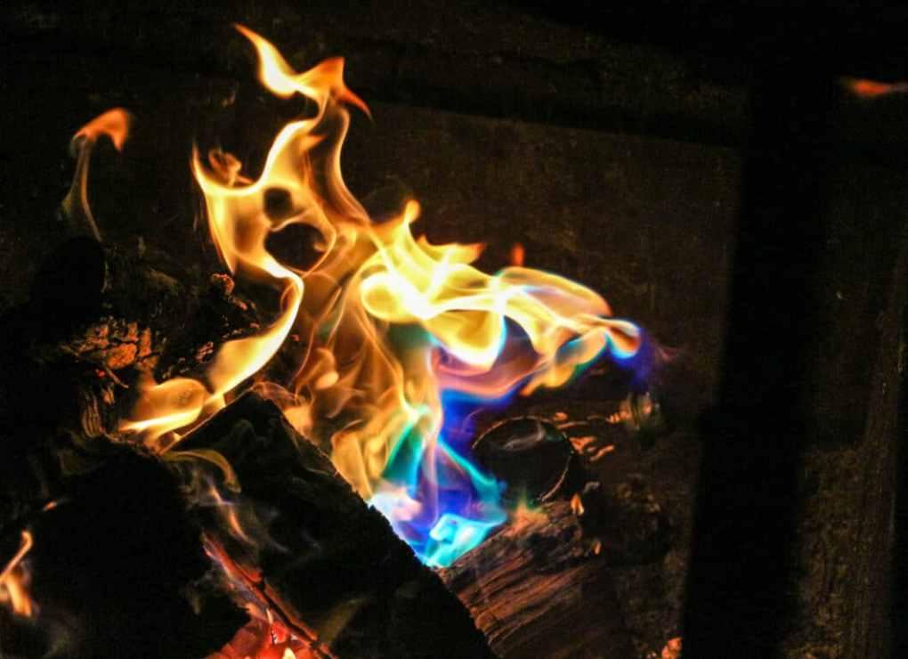 A magic fire!