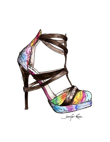 Ana Locking Shoe drawing giveaway