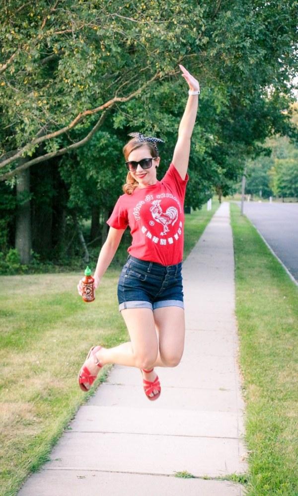 Sriracha shirt
