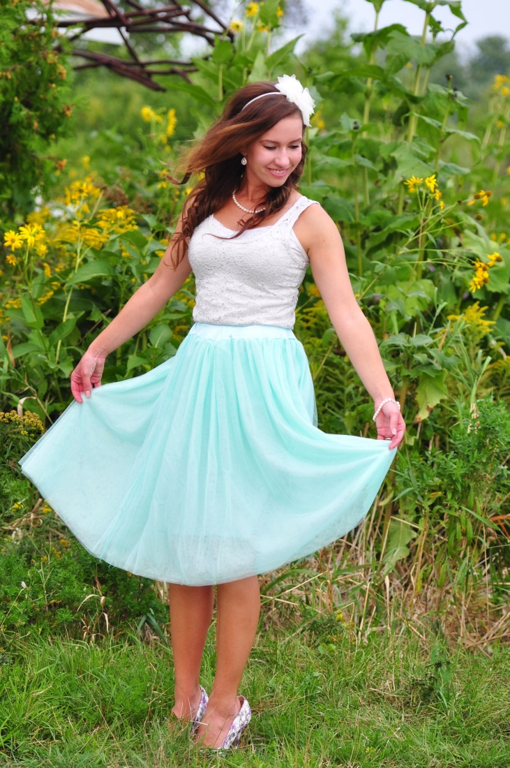 Inner Fairy Princess tulle skirt