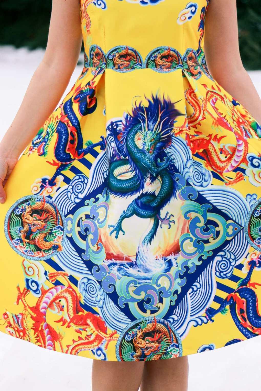 Dragon dress Shein