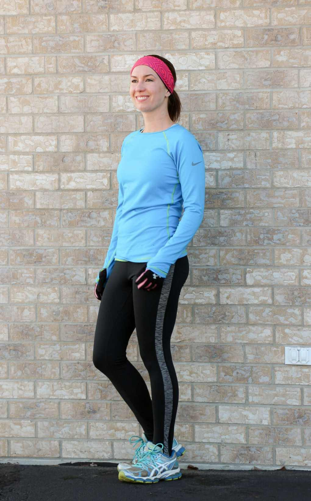 cold weather running outfit