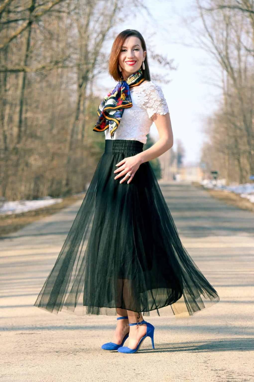 New Chic Tulle Skirt