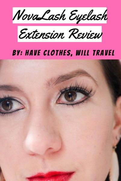 NovaLash Eyelash Extension Review