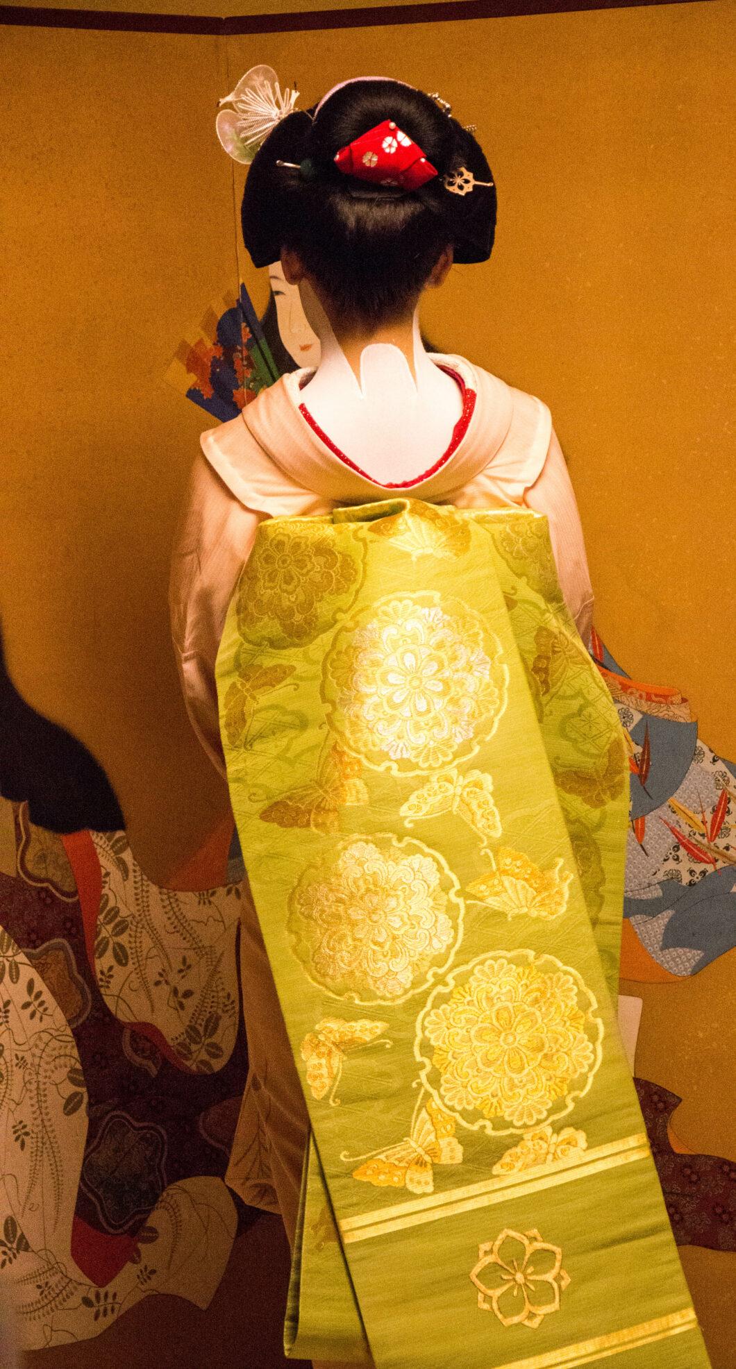 A Maiko's obi