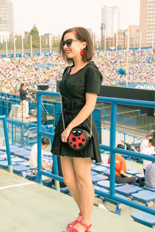 Shein black dress