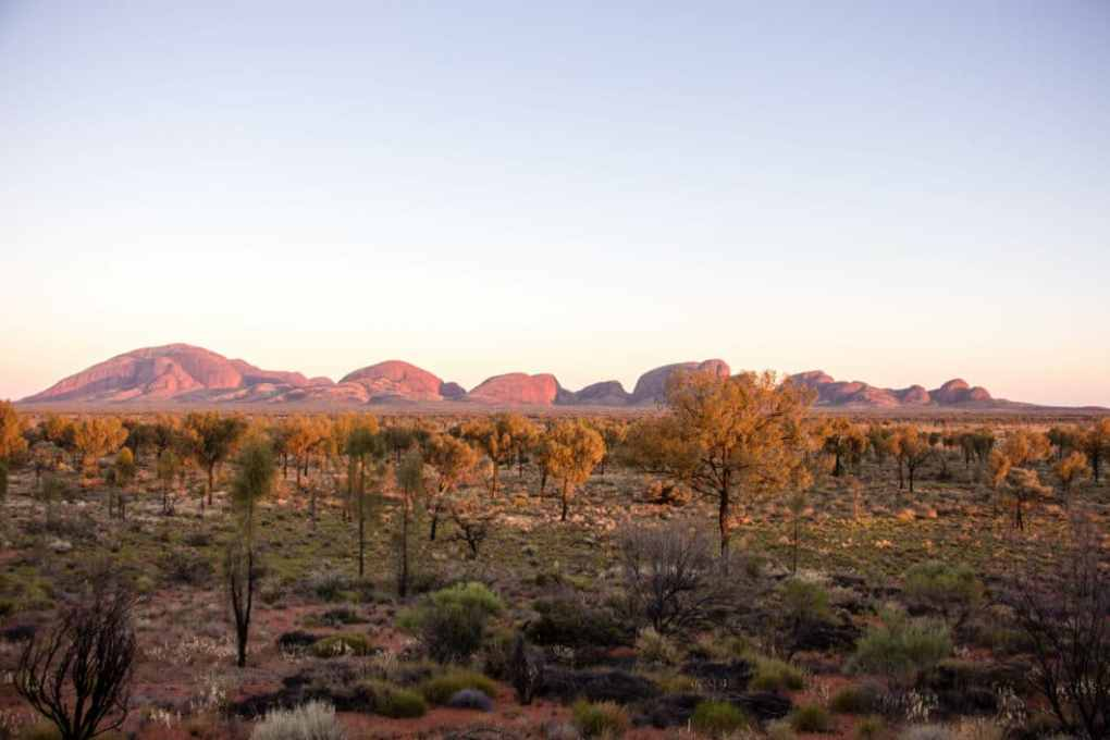 Kata Tjuta at dawn