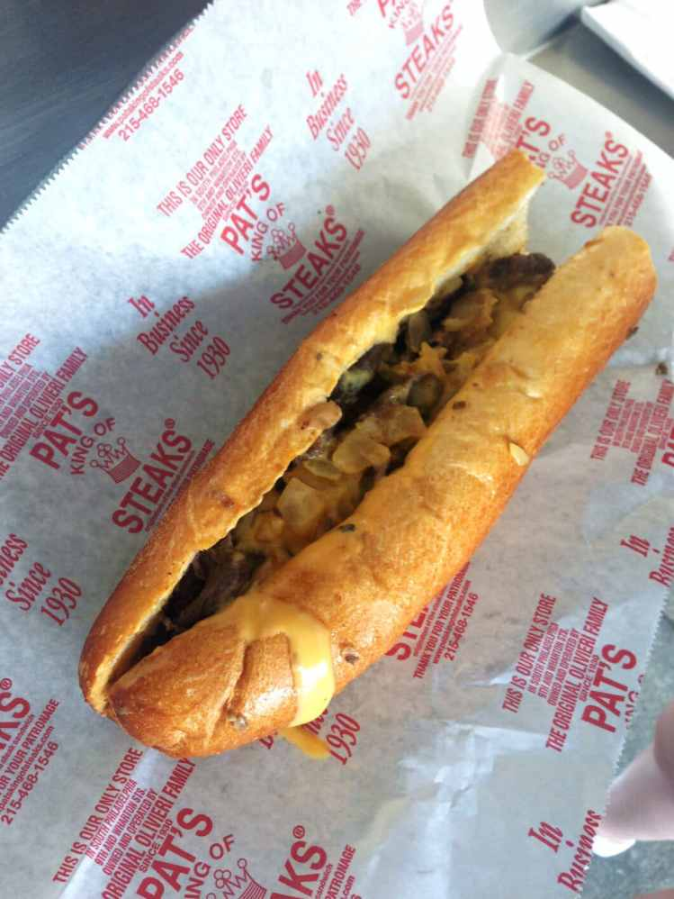 Cheesesteak from Pat's