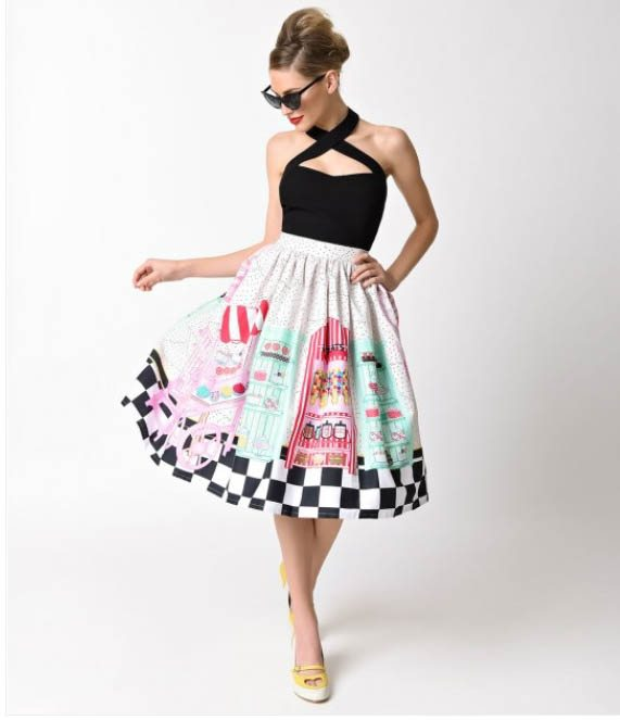 Unique Vintage Carries A Great Range Of Retro Inspired Designers With Everything From Swimsuits To Wiggle Dresses And Wedding Attire
