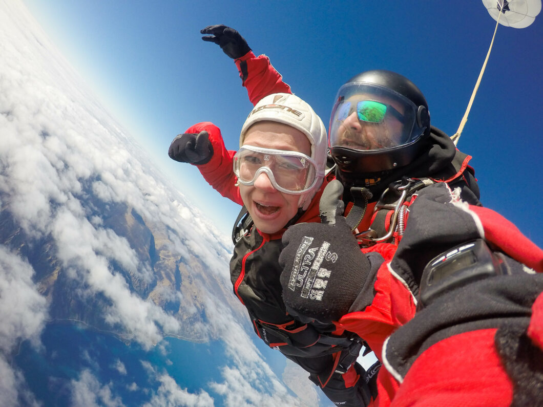 Skydiving At 15 000 Feet In Queenstown New Zealand Have Clothes
