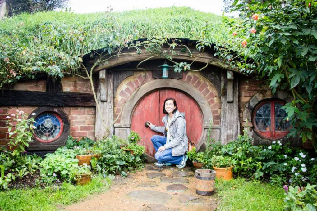 A Hobbit home in New Zealand