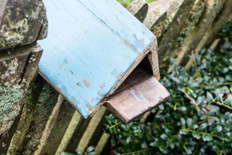 Each mailbox outside the Hobbit homes has a mailbox that indicates the homeowners profession!