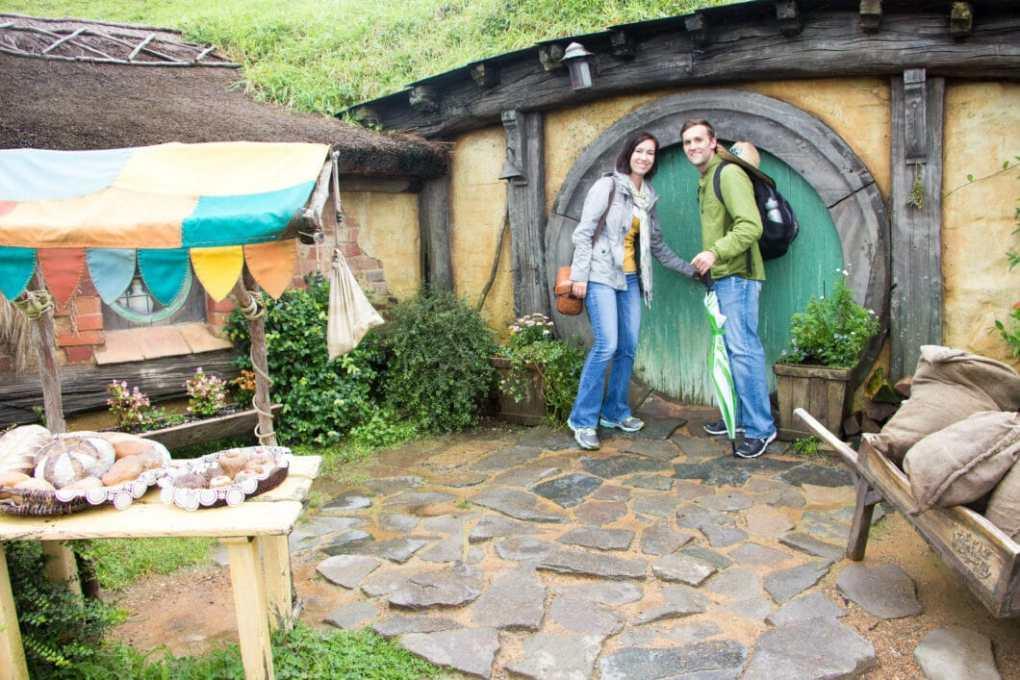 Hobbiton home in new zealand