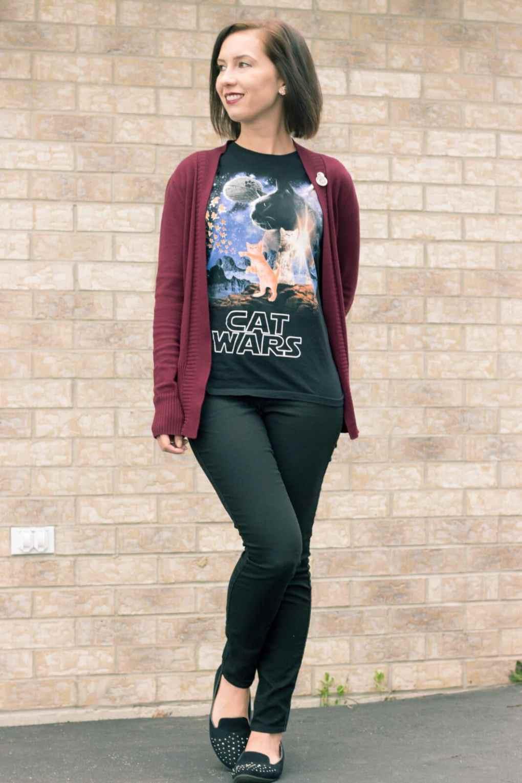 Star Wars Cat Wars shirt