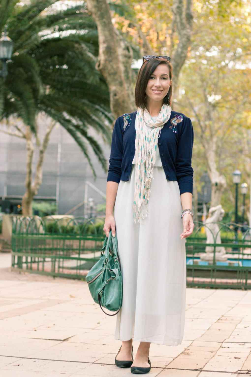 JustFashionNow long chiffon dress
