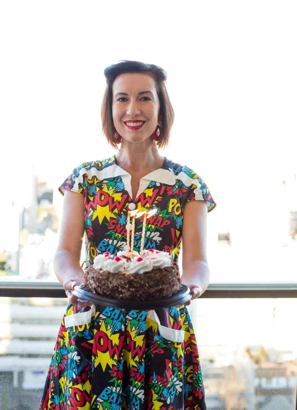 Blogging Anniversary & Unique Vintage dress