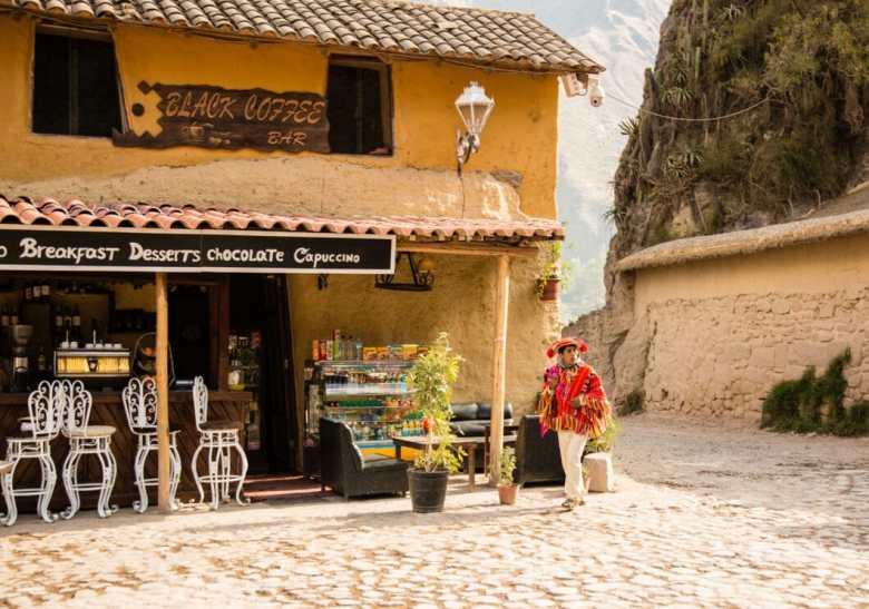 Ollantaytambo was a really lovely city!