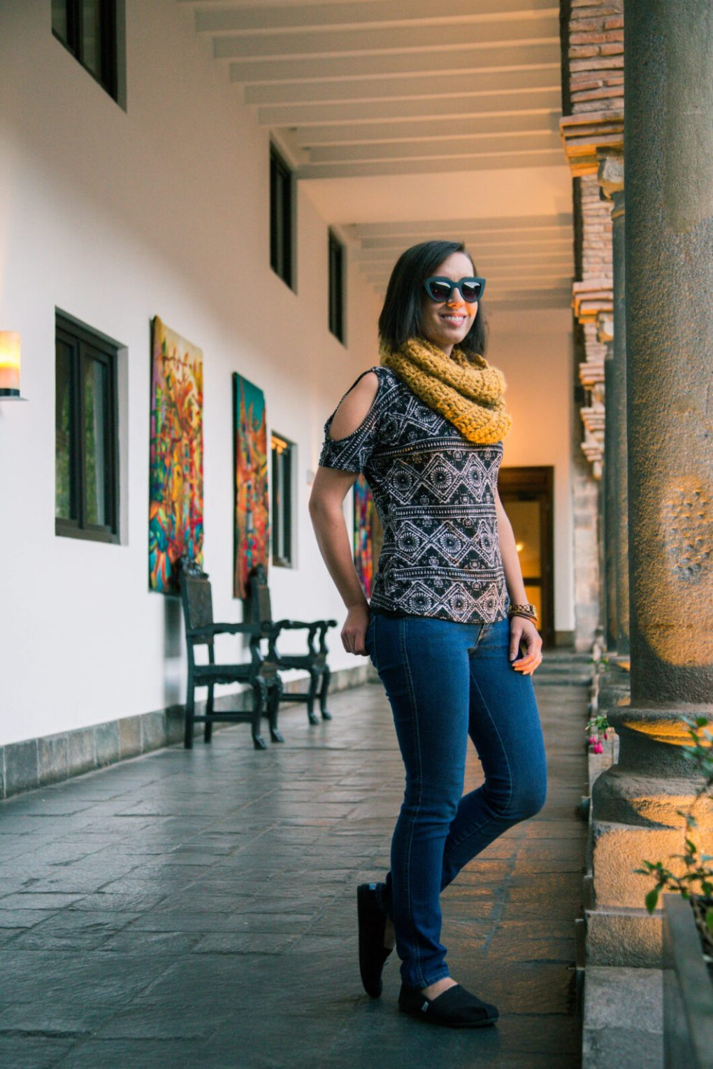 Cusco Peru travel outfit