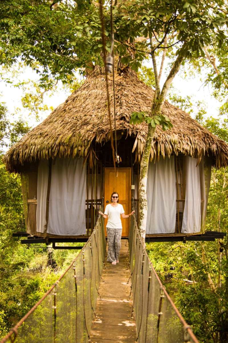 Staying at the Treehouse Lodge in Peru's Amazon Rainforest