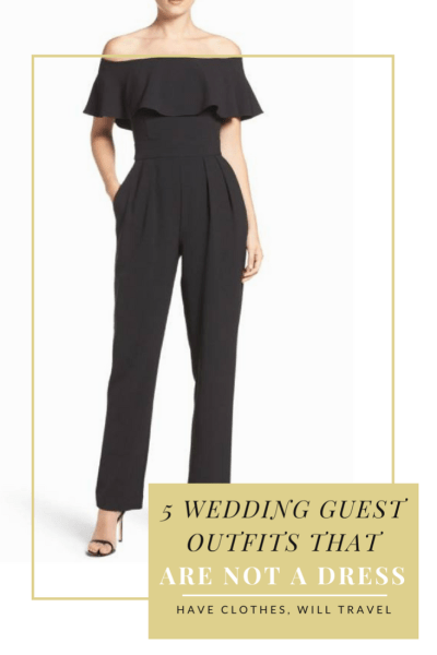 5 Wedding Guest Outfit Ideas That *Are Not* a Dress - Have Clothes ...