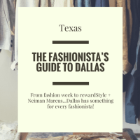 THE FASHIONISTA'S GUIDE TO DALLAS