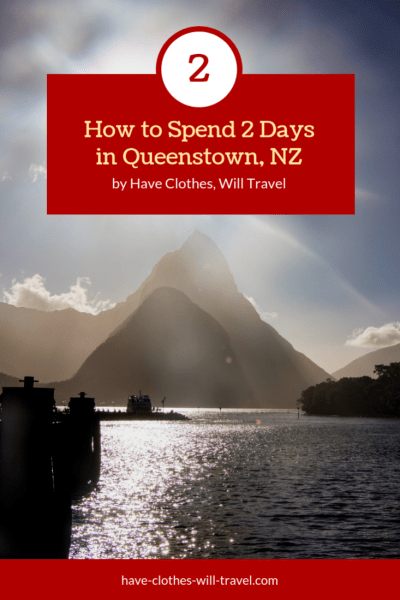 How to Spend 2 Days in Queenstown, New Zealand