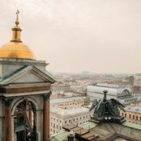 St. Isaac's Cathedral View from the Colonnade