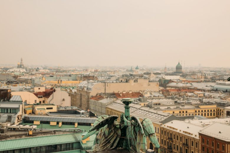 the Best View of St. Petersburg, Russia